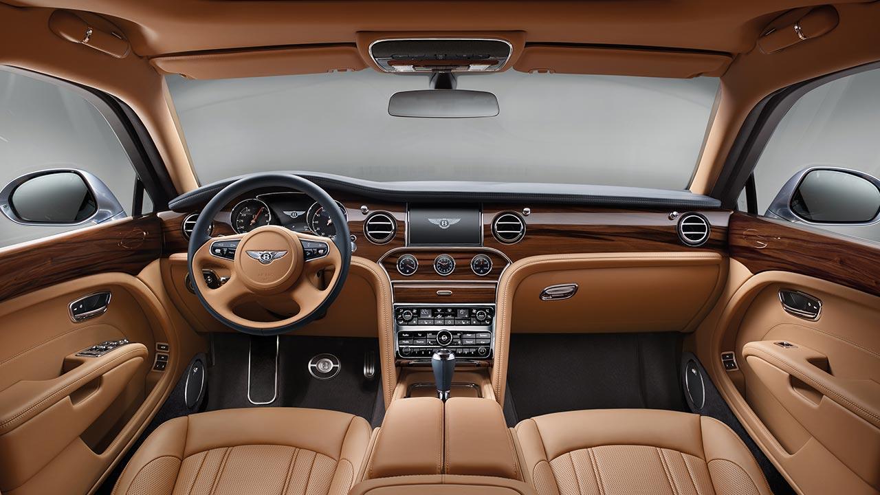 Bentley Mulsanne - Cockpit