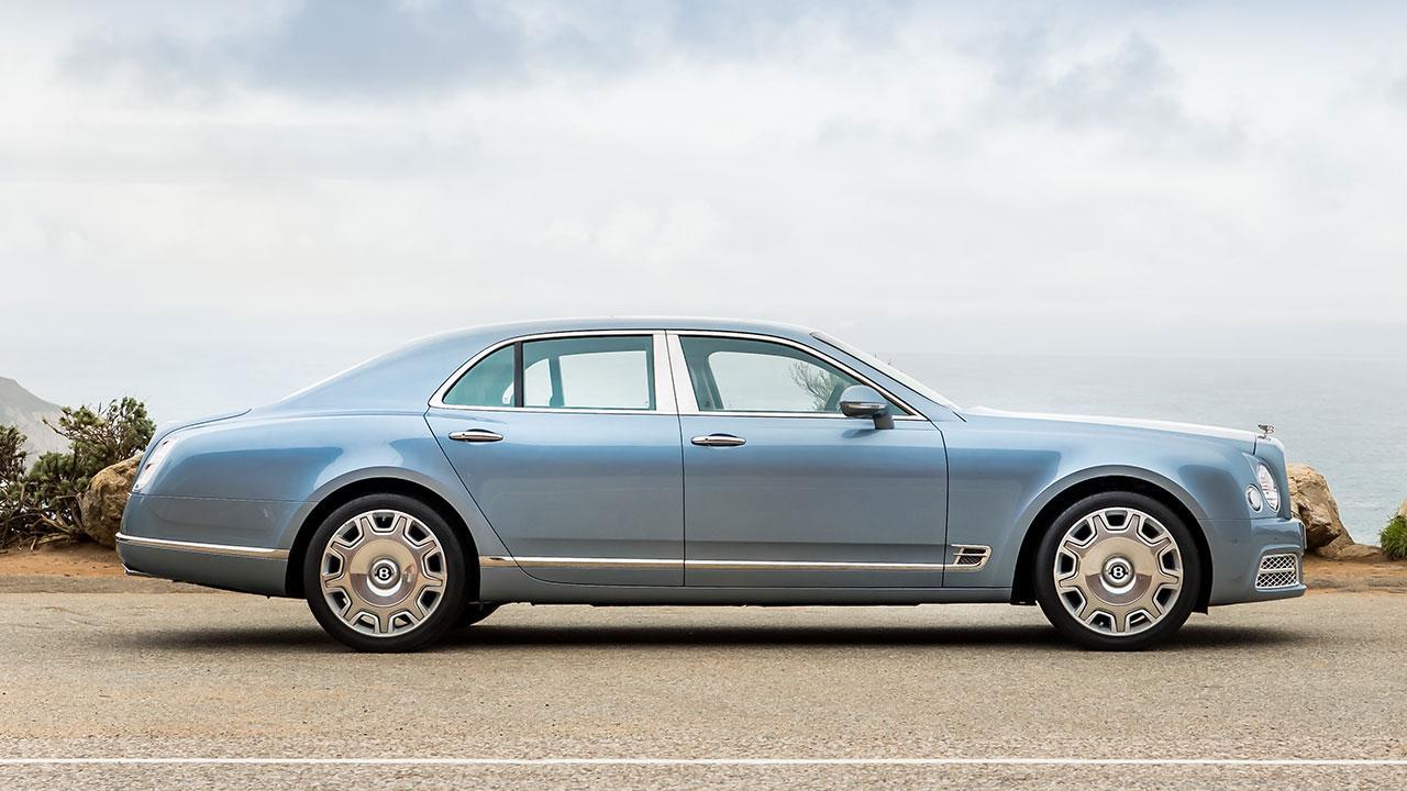 Bentley Mulsanne - Seitenansicht
