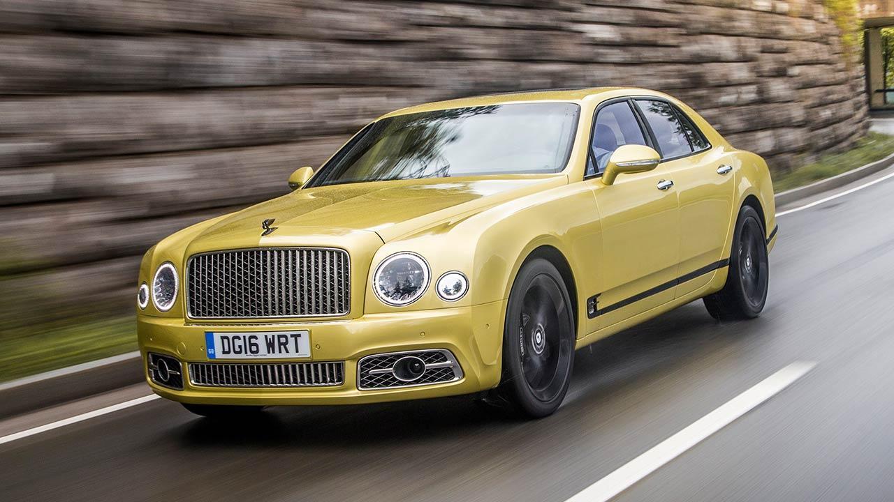 Bentley Mulsanne Speed - in voller Fahrt