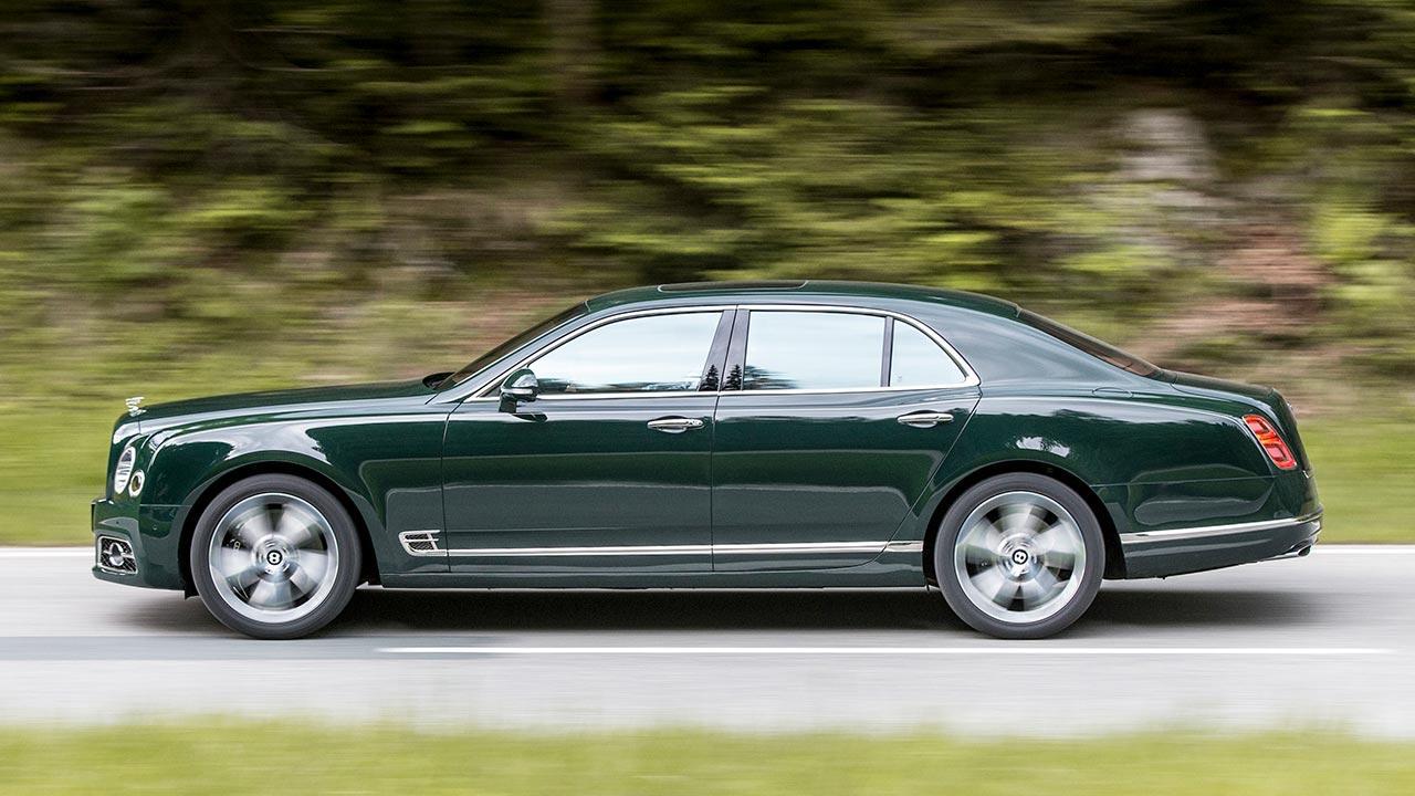 Bentley Mulsanne Speed - Seitenansicht