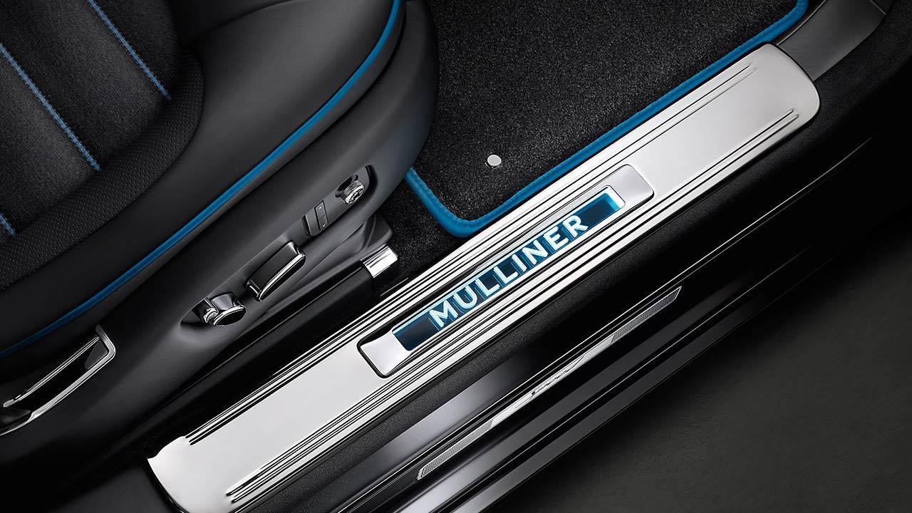 Bentley Mulsanne Speed - Einstiegsleiste