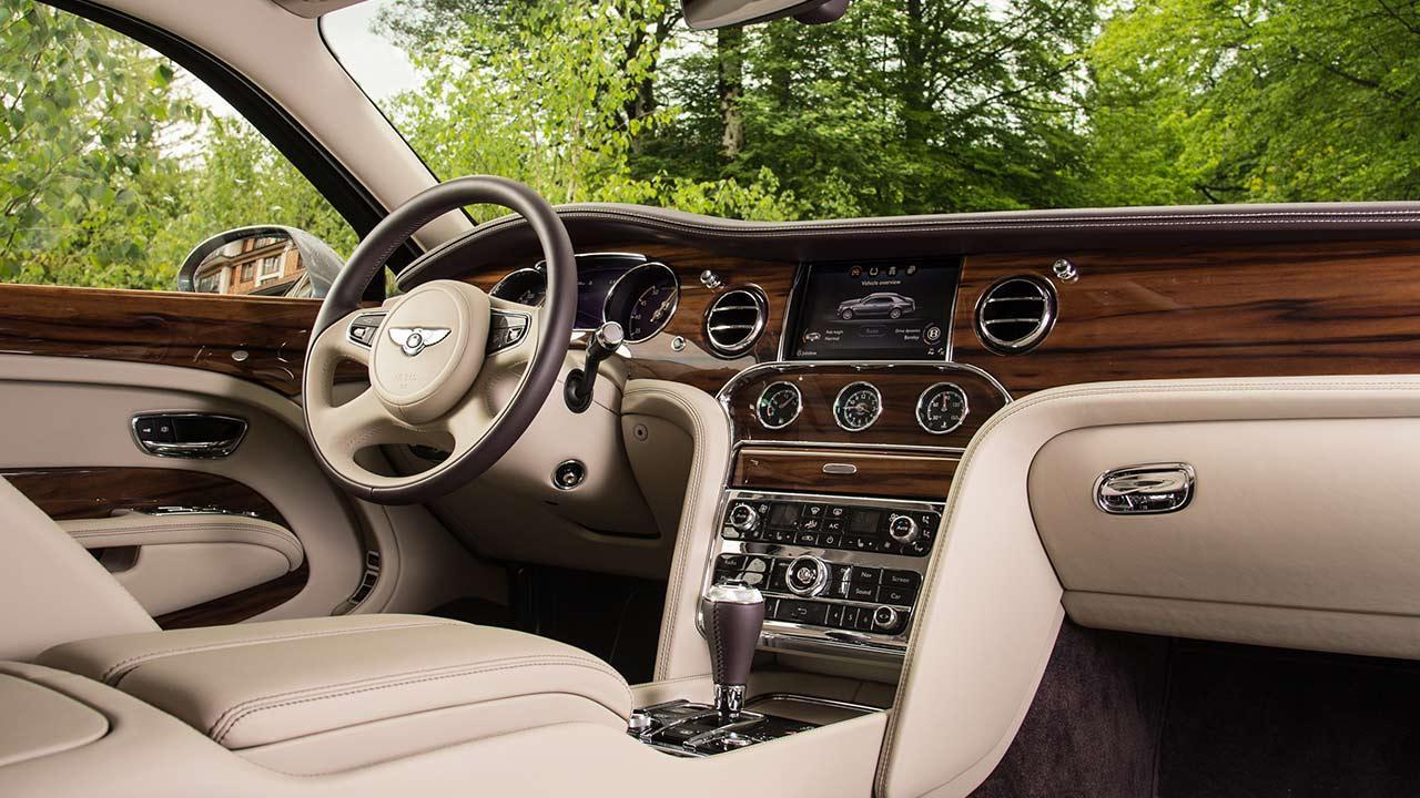 Bentley Mulsanne Extended Wheelbase - Cockpit