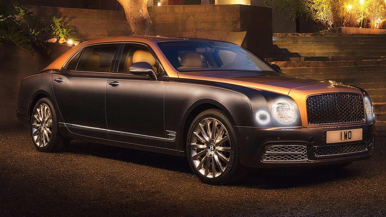 Bentley Mulsanne Extended Wheelbase - im Abendlicht