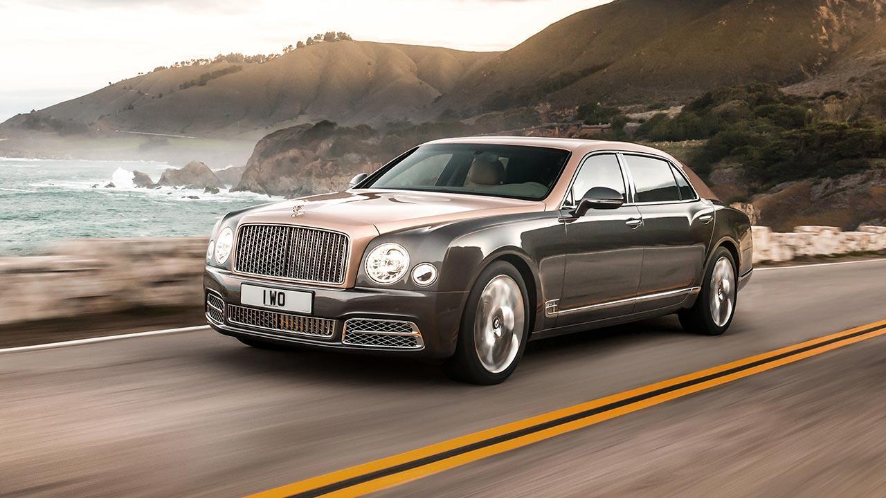 Bentley Mulsanne Extended Wheelbase - Ausfahrt am Meer