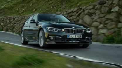 Alpina B3 S Bi-Turbo Touring - in voller Fahrt