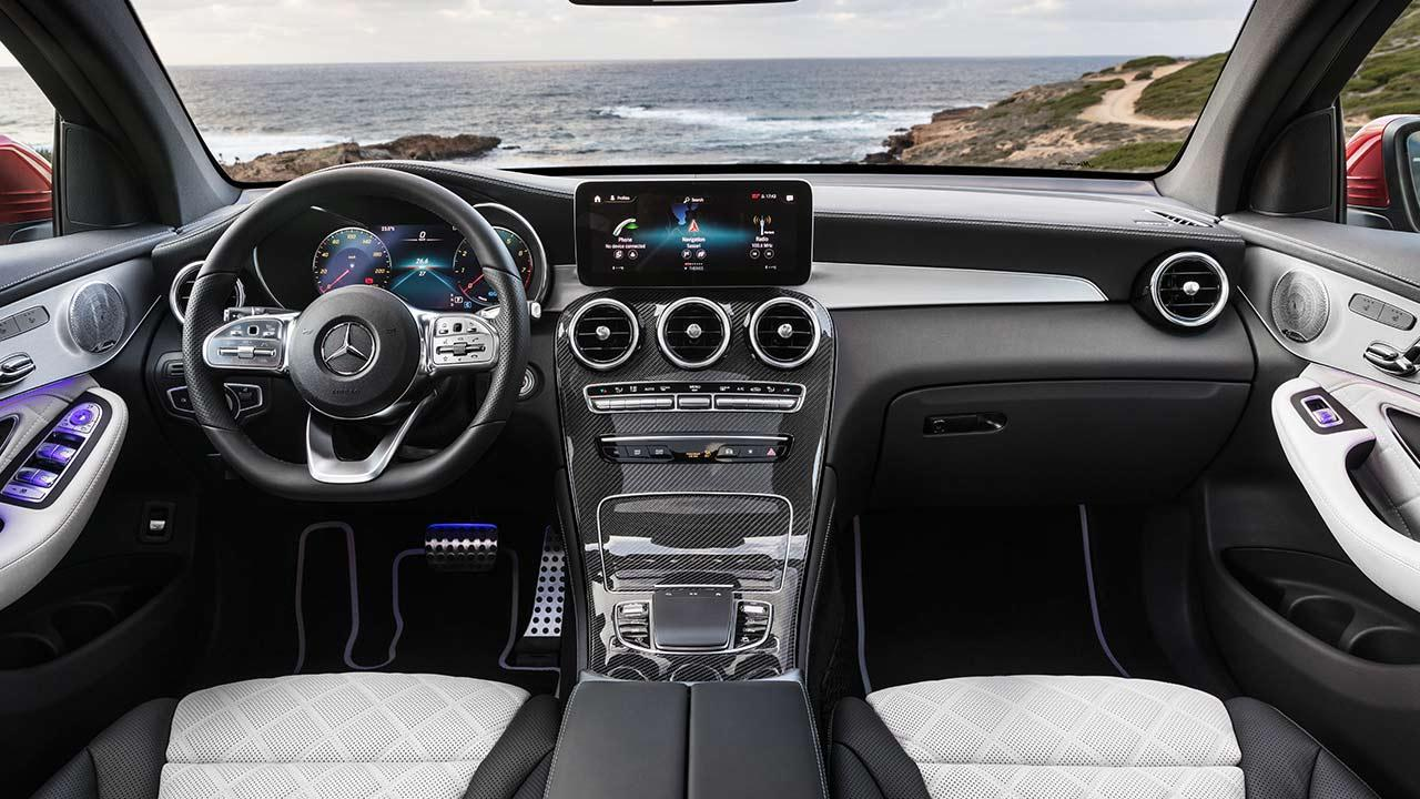 Mercedes-Benz GLC Coupé - Cockpit