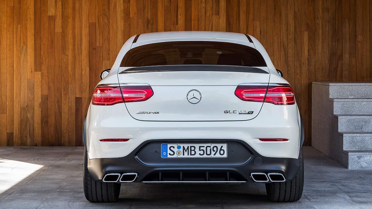 Mercedes-AMG GLC 63 S Coupé - Heckansicht