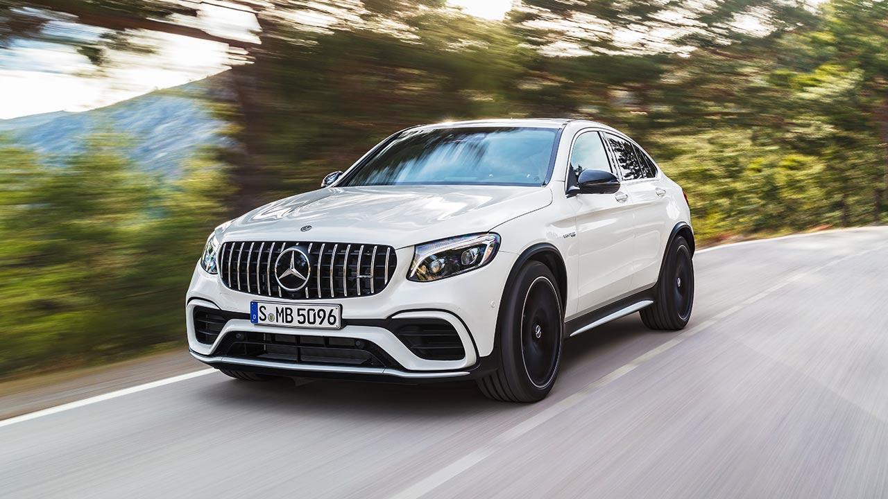 Mercedes-AMG GLC 63 S Coupé - in voller Fahrt