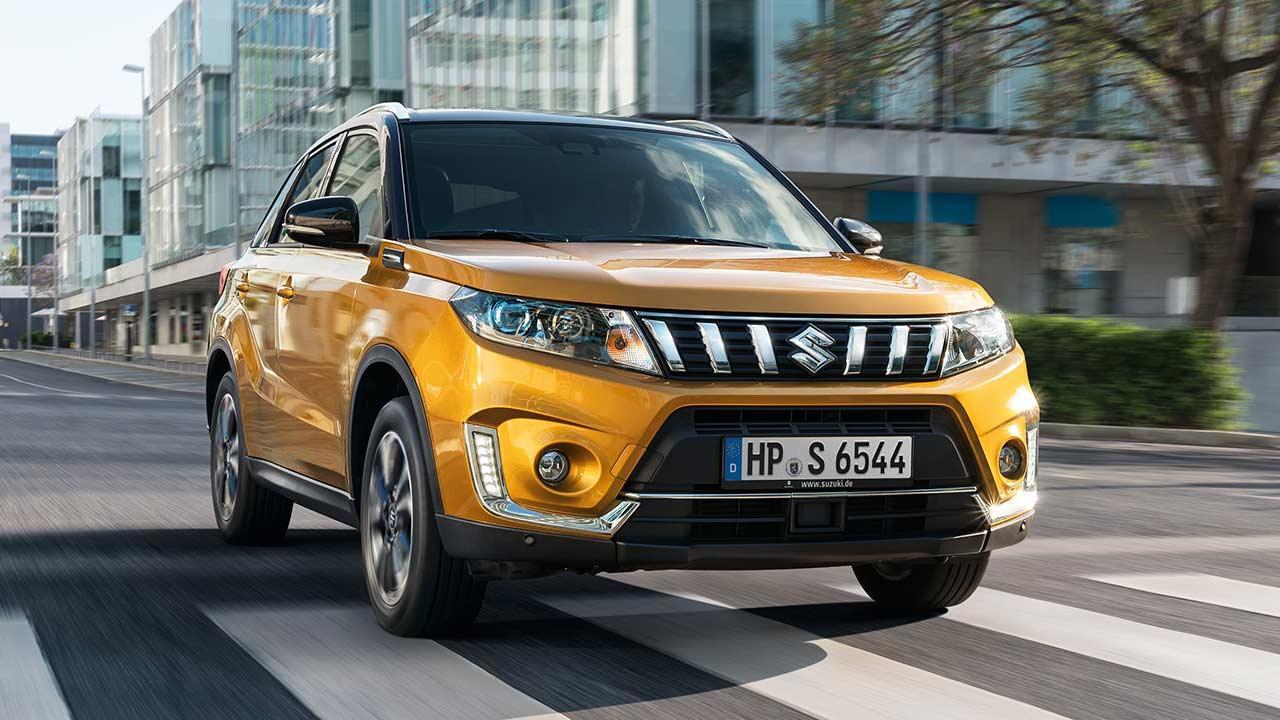 Suzuki Vitara - in voller Fahrt