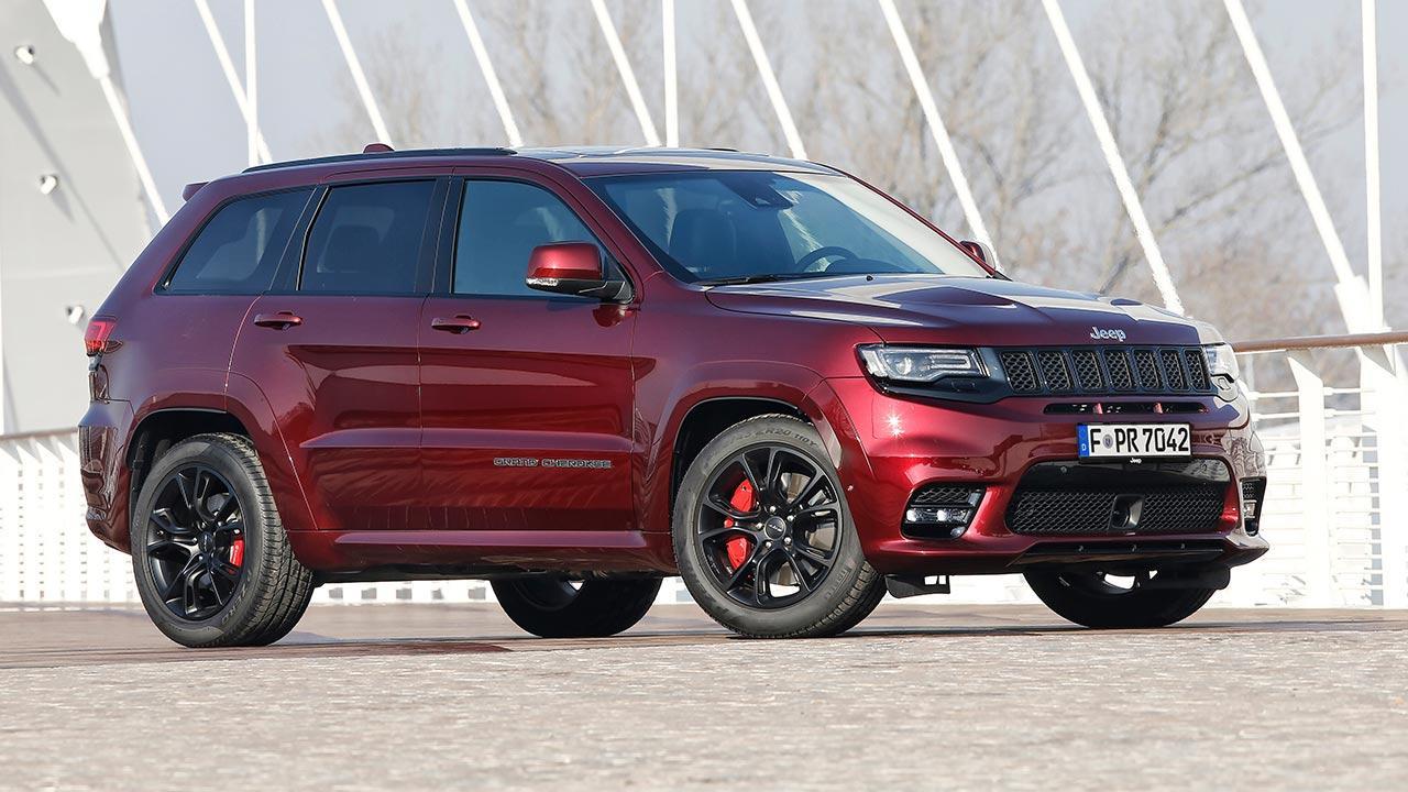 Jeep Grand Cherokee - Seitenansicht