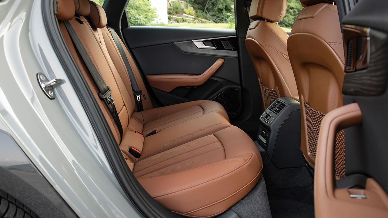 Audi A4 allroad quattro - Rücksitze