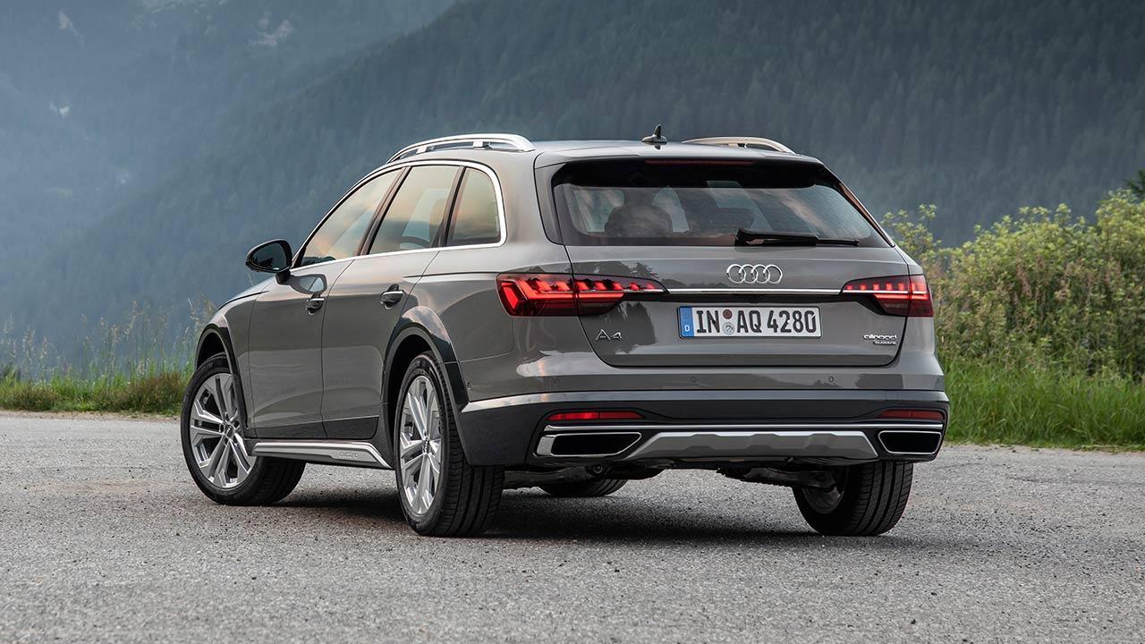 Audi A4 allroad quattro - Heckansicht
