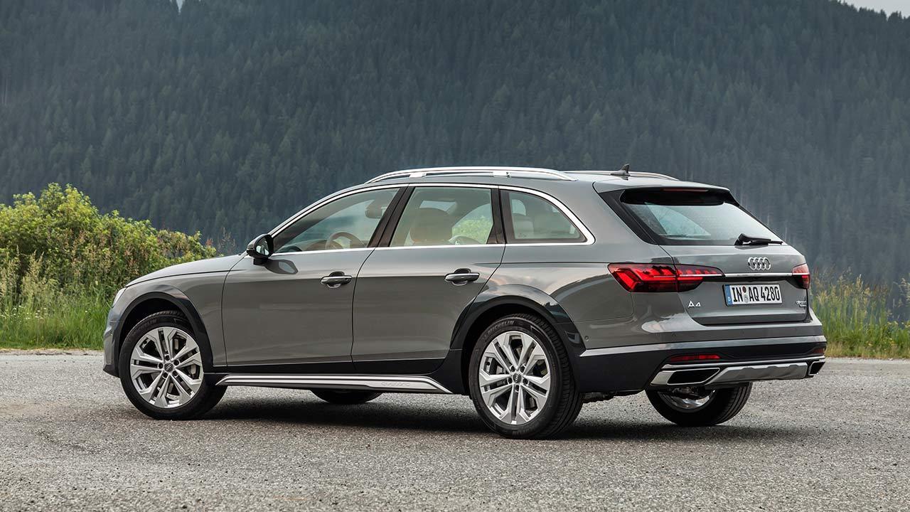 Audi A4 allroad quattro - Seitenansicht