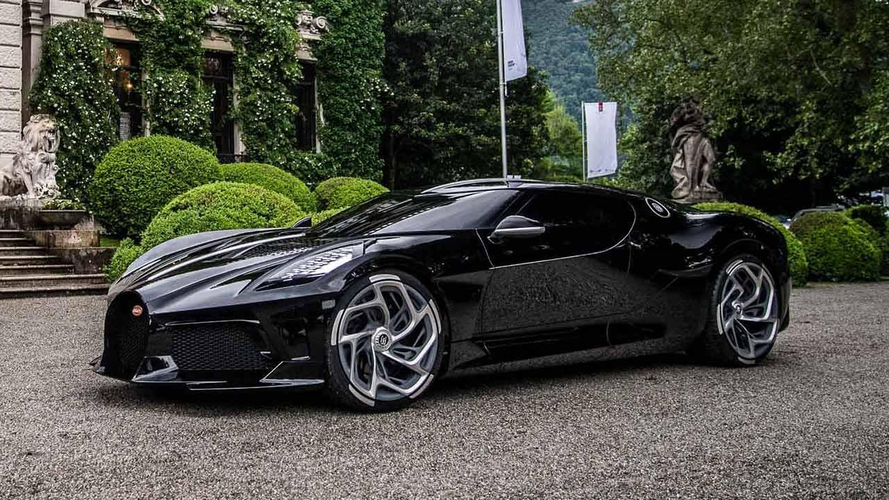 Bugatti La Voiture Noire - Seitenansicht