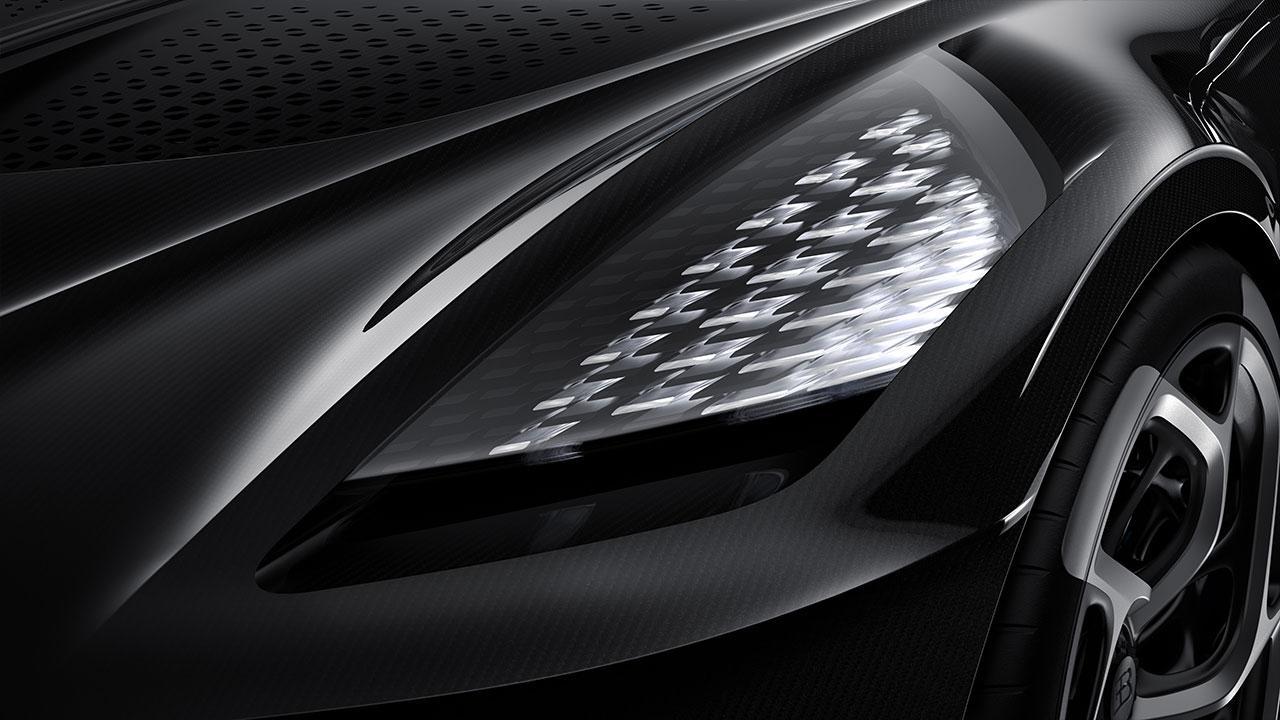 Bugatti La Voiture Noire - Scheinwerfer
