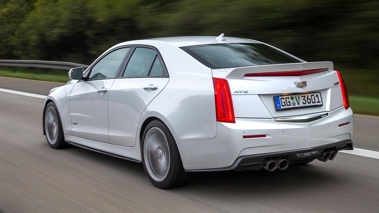 Cadillac ATS-V Limousine - Heckansicht