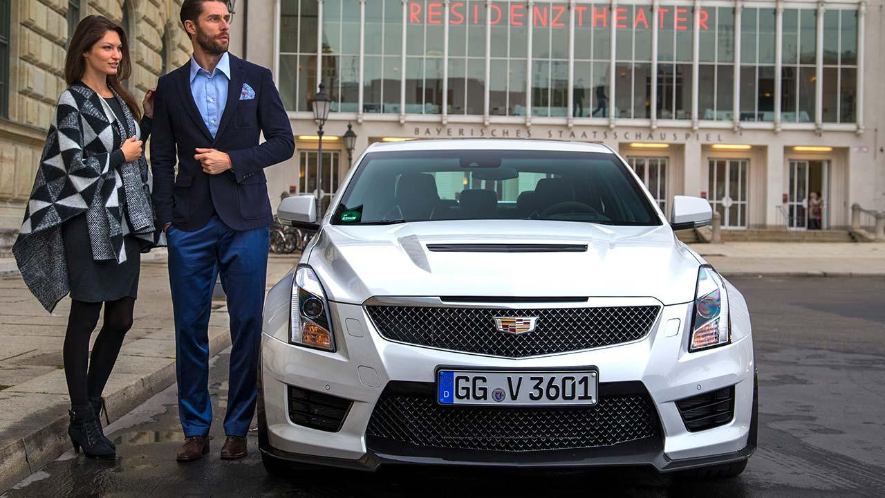 Cadillac ATS-V Limousine - Frontansicht
