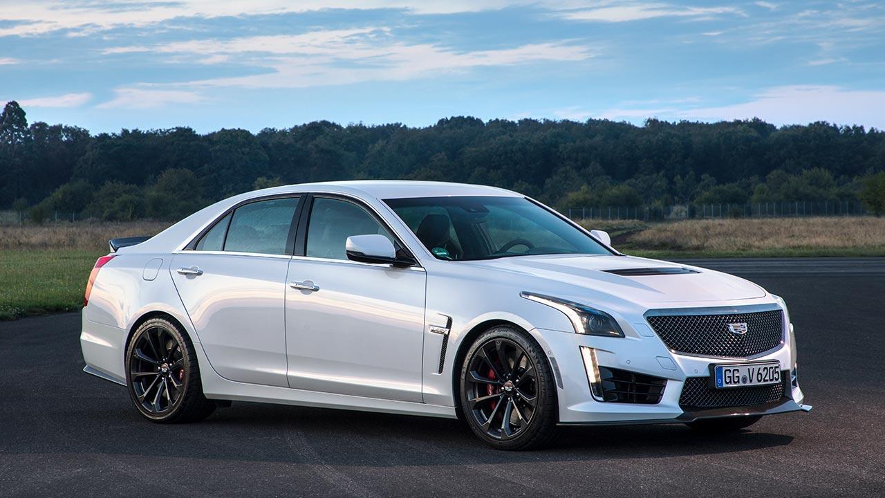 Cadillac CTS-V Limousine - Seitenansicht