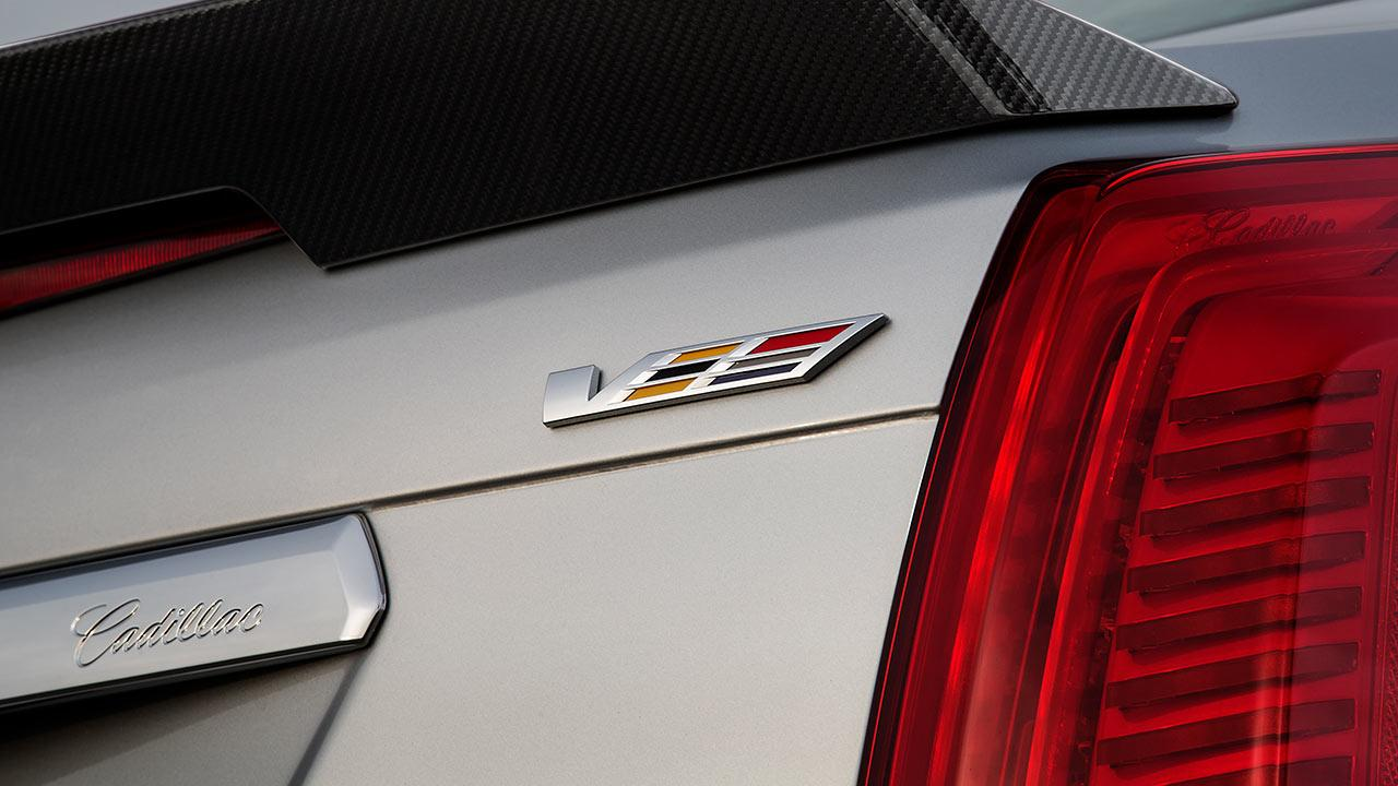 Cadillac CTS-V Limousine - Schriftzug