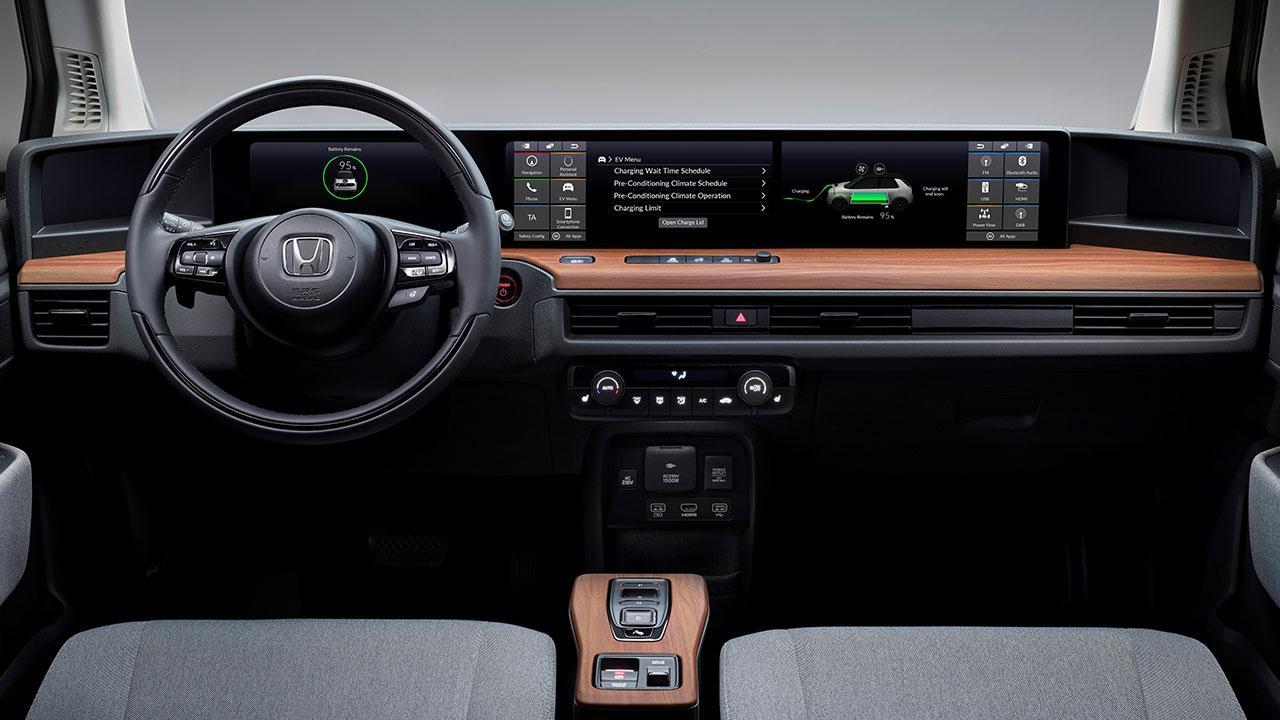 Honda e - Cockpit