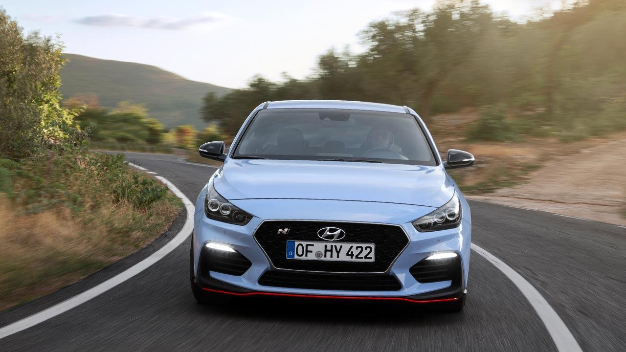 Hyundai i30 N - Frontansicht