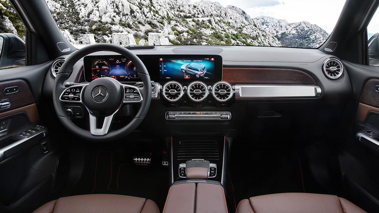 Mercedes-Benz GLB - Cockpit