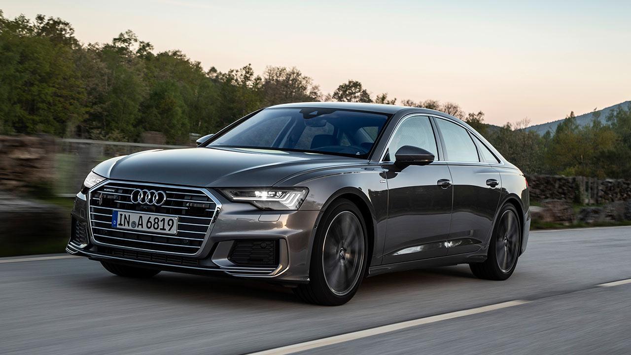 Audi A6 Limousine - in voller Fahrt