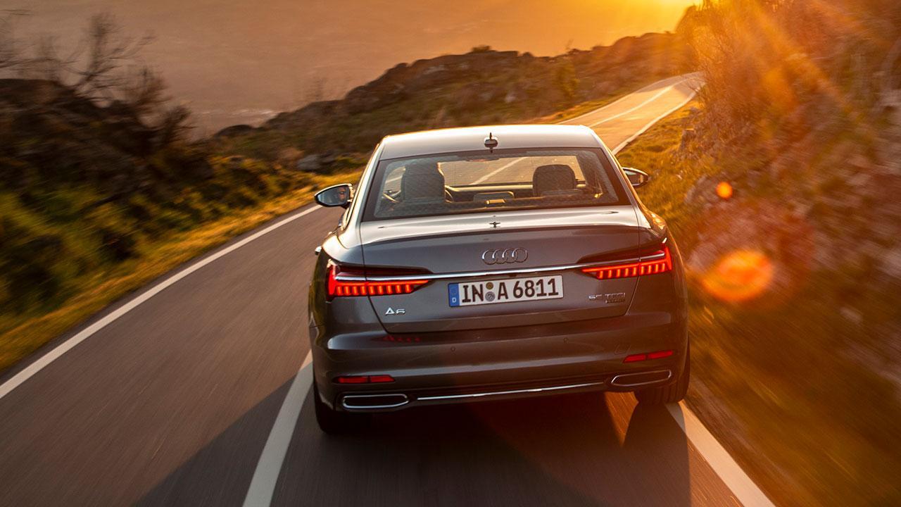 Audi A6 Limousine - Heckansicht