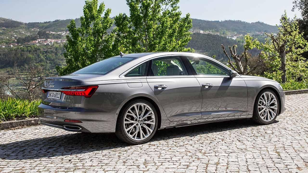 Audi A6 Limousine - Seitenansicht