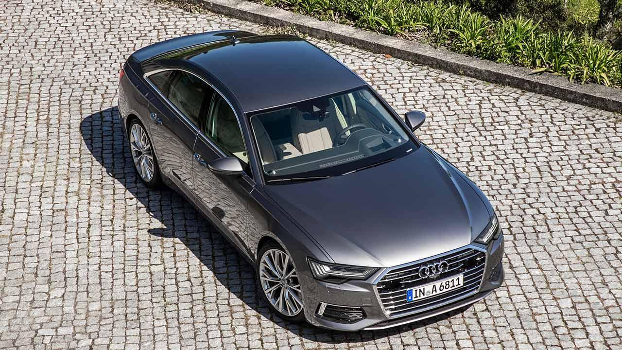 Audi A6 Limousine - Vogelperspektive