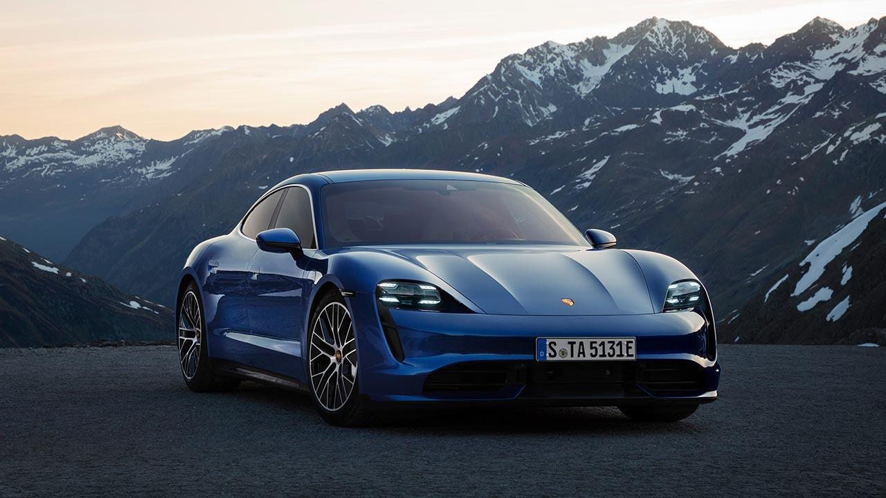 Porsche Taycan Turbo - Frontansicht