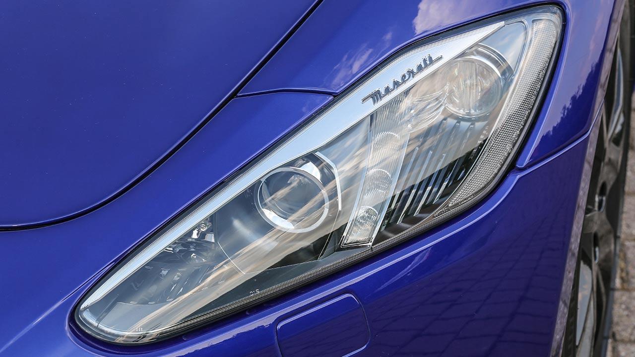 Maserati GranTurismo Sport - Scheinwerfer