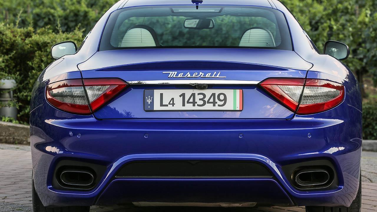 Maserati GranTurismo Sport - Heckansicht
