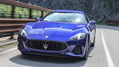 Maserati GranTurismo Sport - in voller Fahrt
