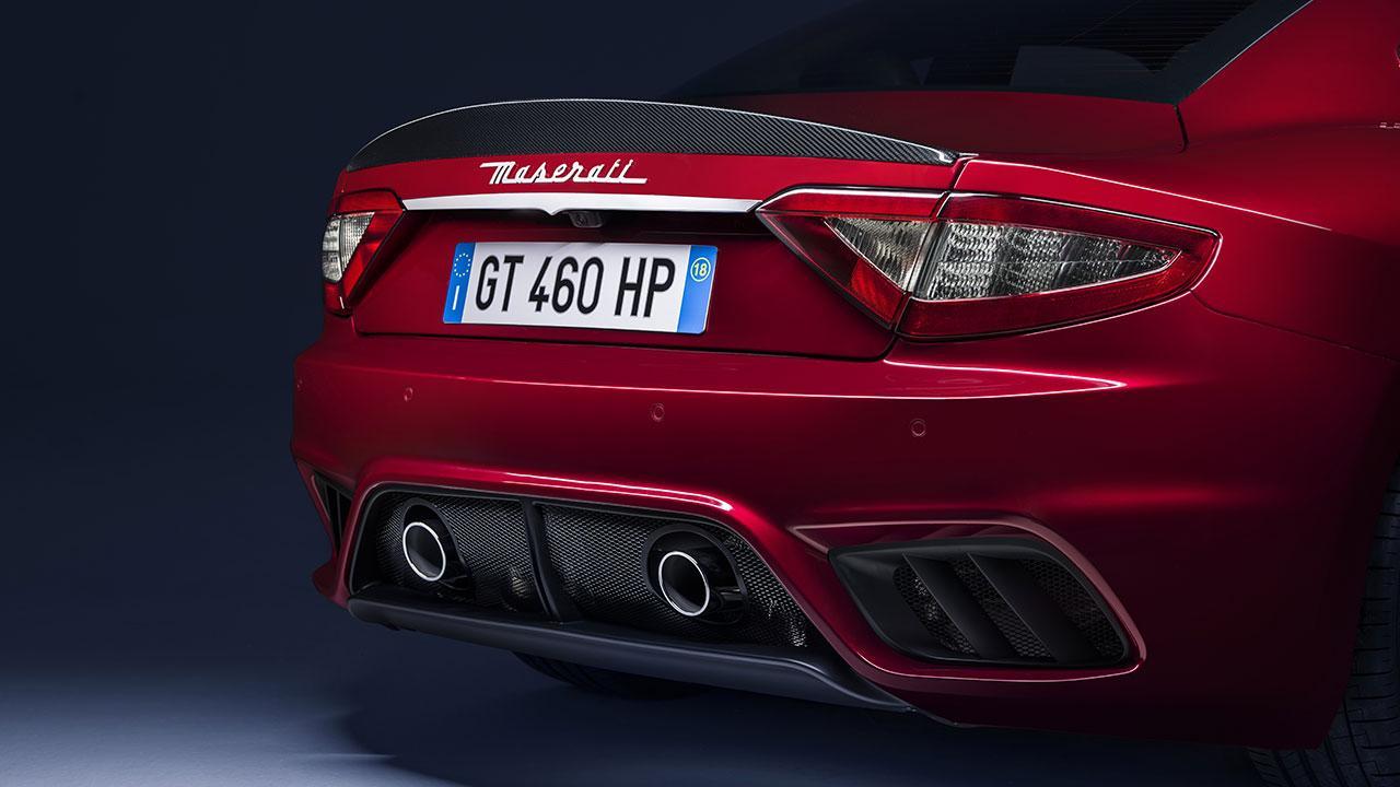 Maserati GranTurismo MC - Heckansicht