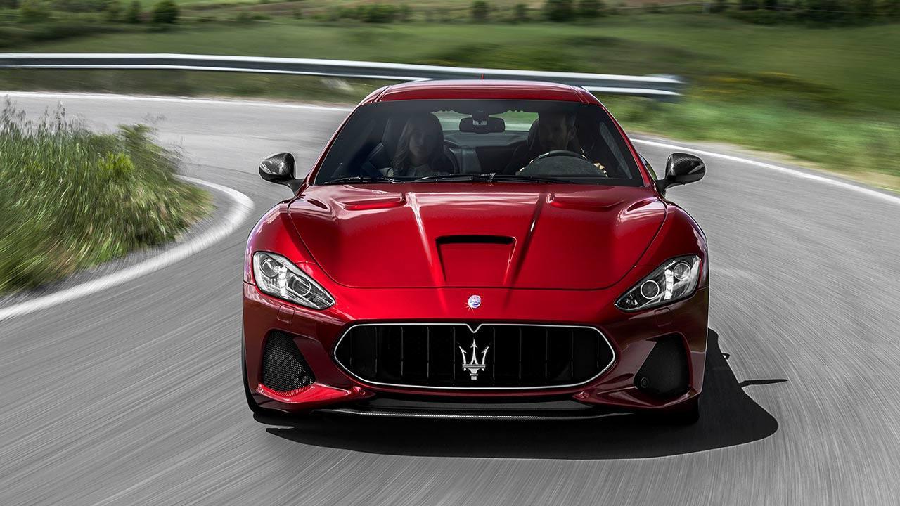 Maserati GranTurismo MC - Frontansicht