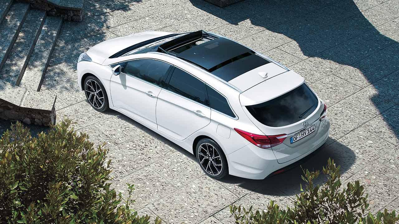 Hyundai i40 Kombi Space - Vogelperspektive