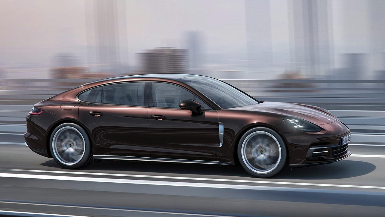 Porsche Panamera 4 Executive - Seitenansicht