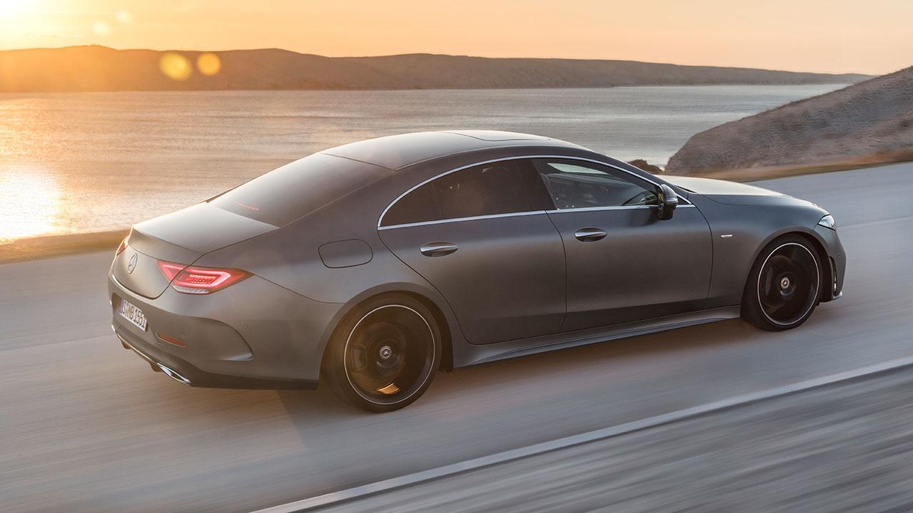 Mercedes-Benz CLS Coupé  - Seitenansicht
