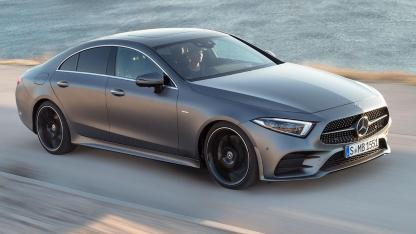 Mercedes-Benz CLS Coupé  - in voller Fahrt