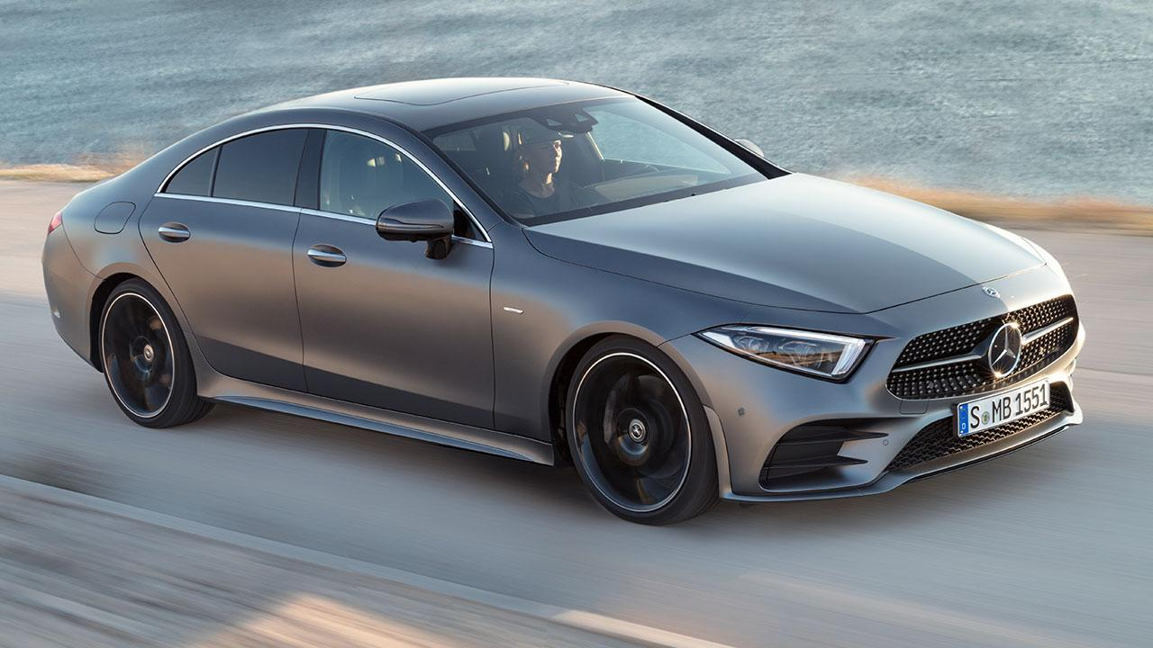 Mercedes-Benz CLS Coupé  - in voller Fahrt