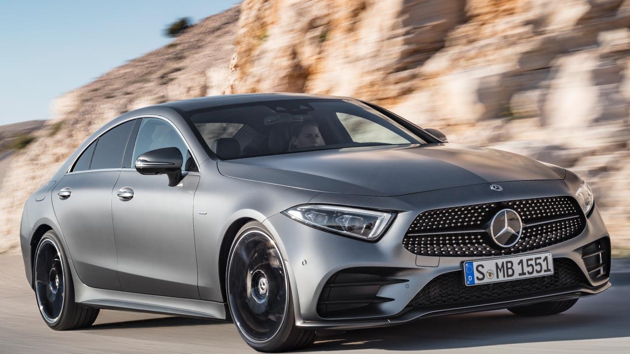 Mercedes-Benz CLS Coupé - seitliche Frontansicht