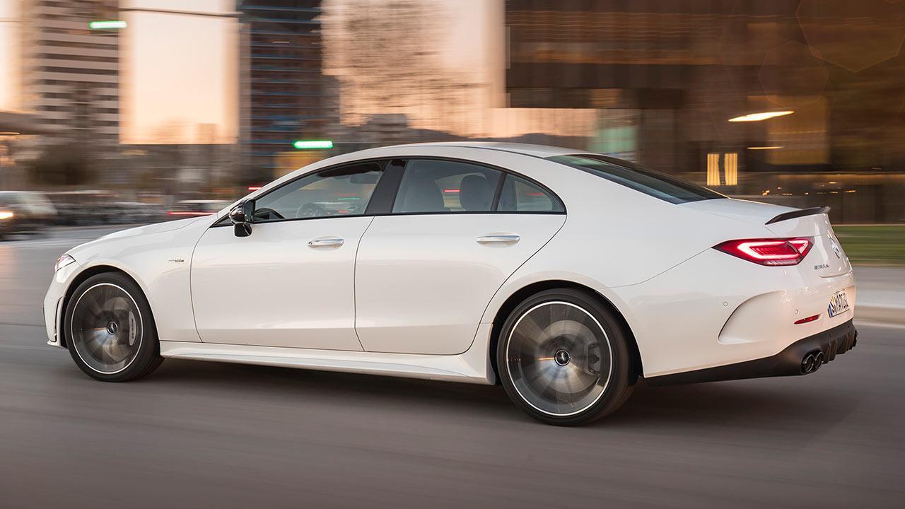 Mercedes-AMG CLS 53 4MATIC+ Coupé - Seitenansicht