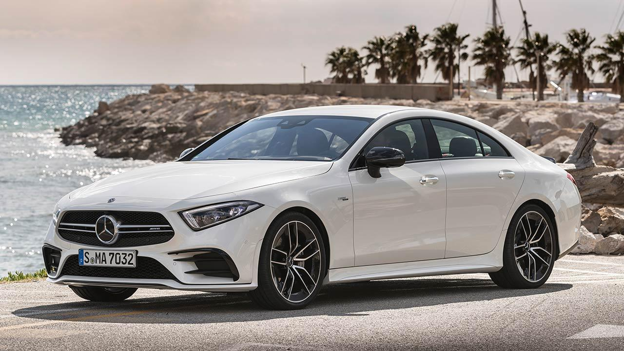 Mercedes-AMG CLS 53 4MATIC+ Coupé - Frontansicht