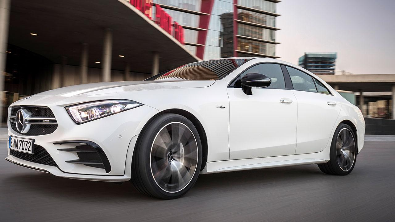 Mercedes-AMG CLS 53 4MATIC+ Coupé - in voller Fahrt
