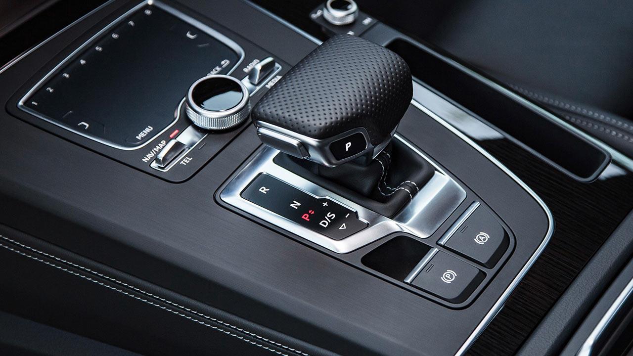 Audi Q5 - Schalthebel