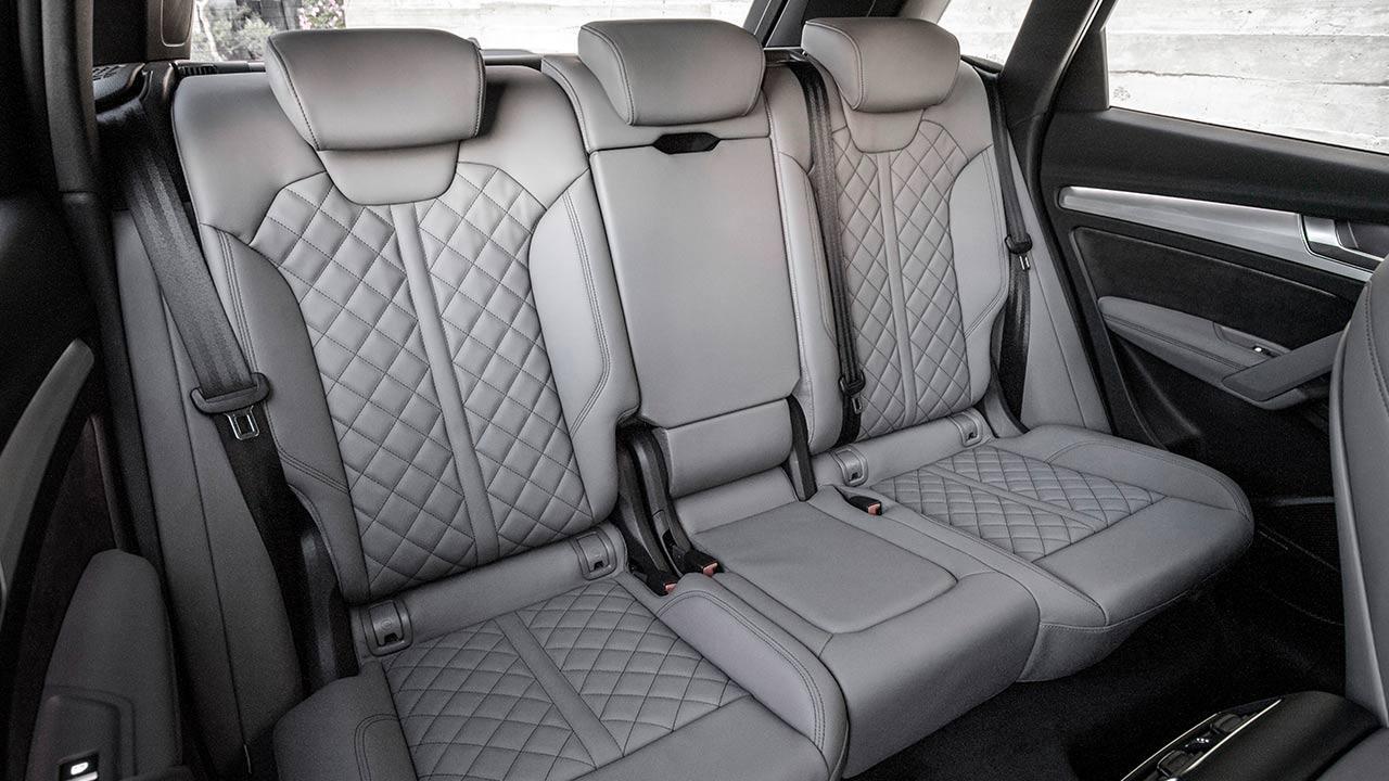 Audi Q5 - Rücksitze
