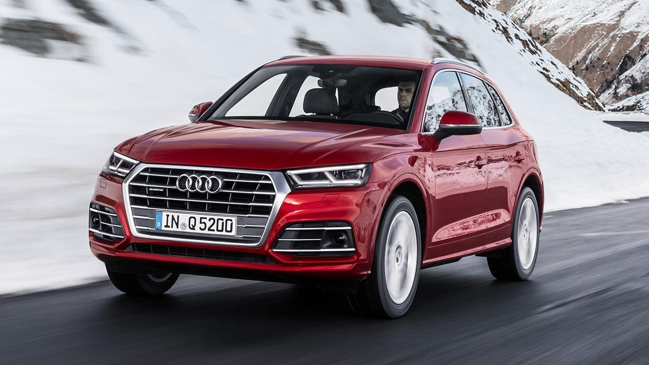 Audi Q5 - über Winterstraße