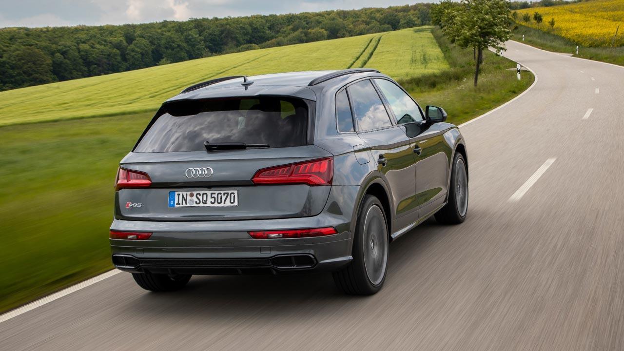 Audi SQ5 TDI - Heckansicht