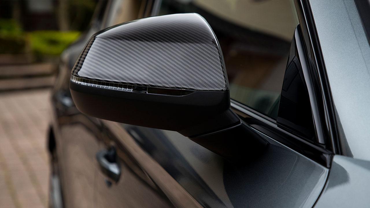 Audi SQ5 TDI - Seitenspiegel in Carbonoptik